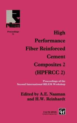 High Performance Fiber Reinforced Cement Composites 2: Proceedings of the International Workshop, 1st Edition (Hardback) book cover