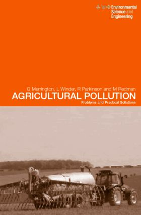 Agricultural Pollution: Environmental Problems and Practical Solutions, 1st Edition (Paperback) book cover
