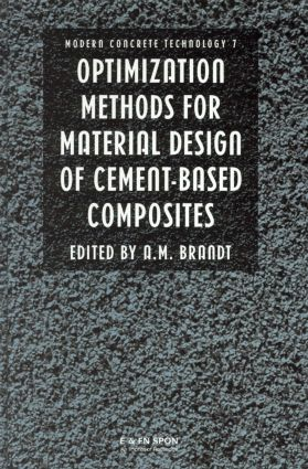 Optimization Methods for Material Design of Cement-based Composites book cover