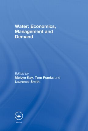 Water: Economics, Management and Demand: 1st Edition (Paperback) book cover