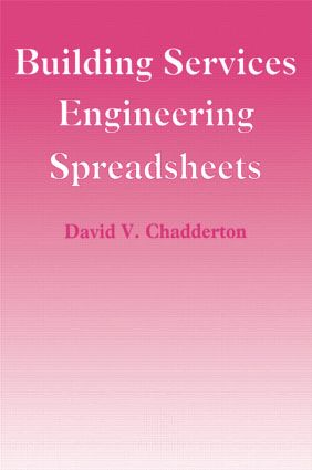 Building Services Engineering Spreadsheets (Paperback) book cover