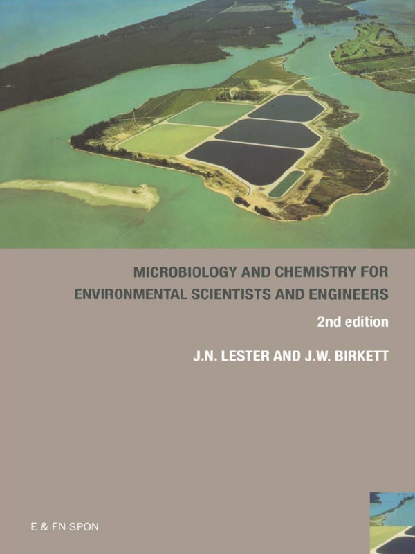 Microbiology and Chemistry for Environmental Scientists and Engineers: 1st Edition (Paperback) book cover