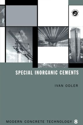 Special Inorganic Cements book cover