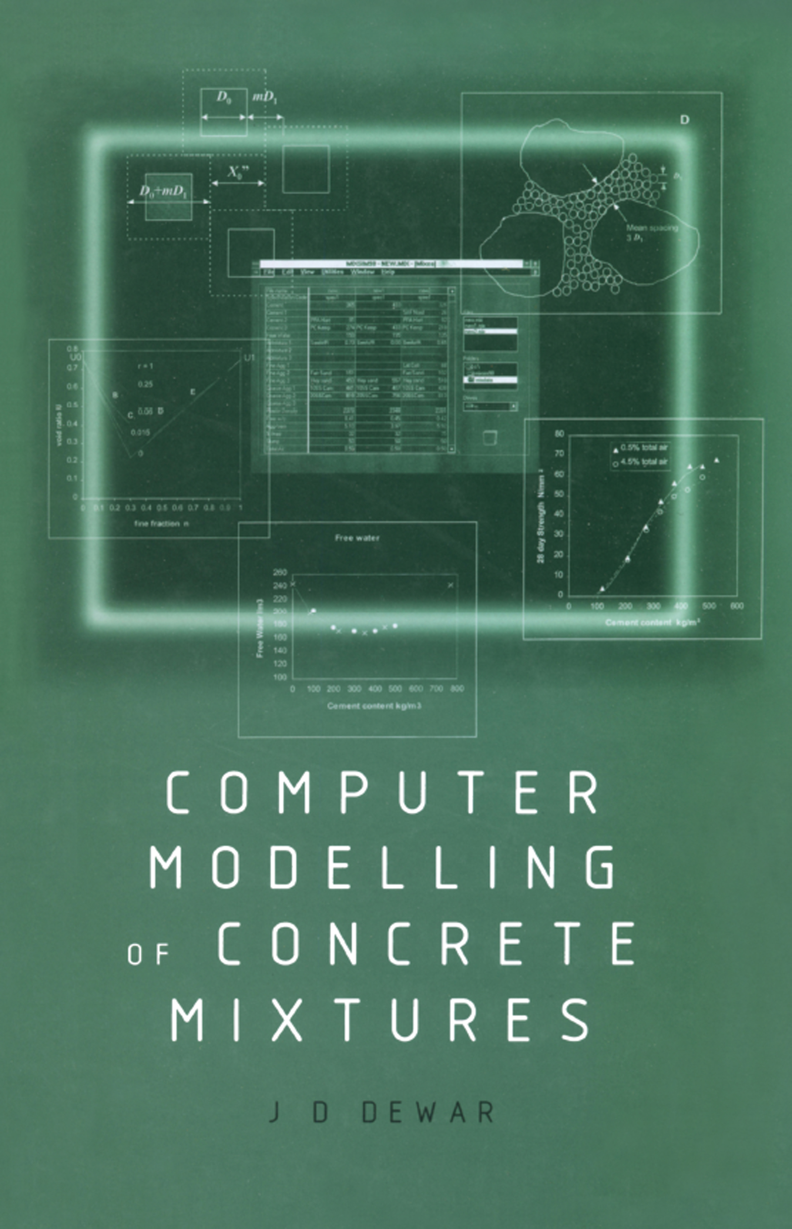 Computer Modelling of Concrete Mixtures: 1st Edition (Hardback) book cover