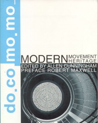 Modern Movement Heritage (Paperback) book cover