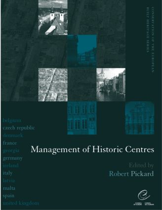 Management of Historic Centres: 1st Edition (Paperback) book cover
