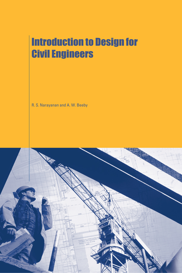 Introduction to Design for Civil Engineers: 1st Edition (Paperback) book cover
