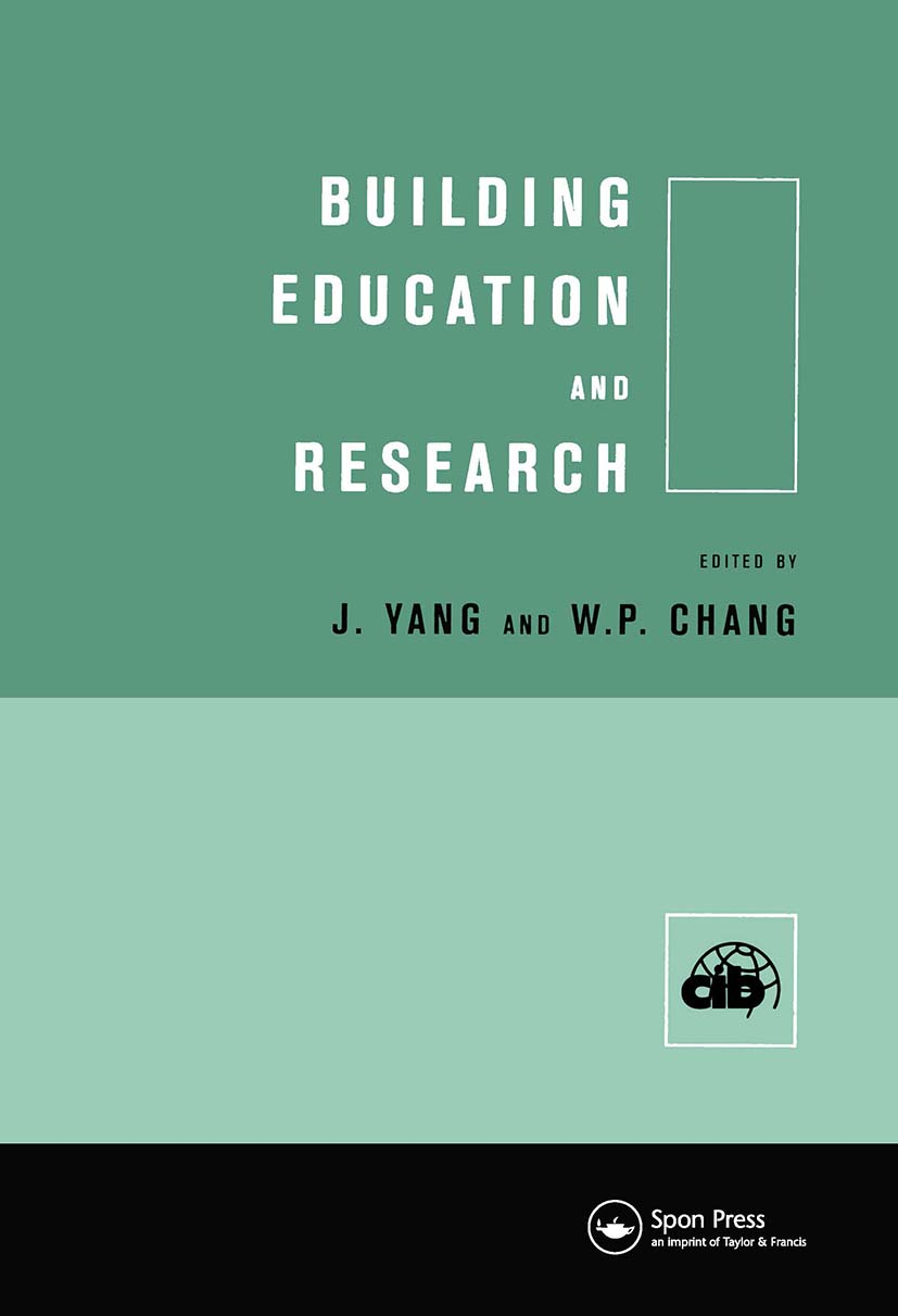 Building Education and Research (Hardback) book cover