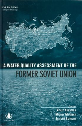 A Water Quality Assessment of the Former Soviet Union: 1st Edition (Hardback) book cover
