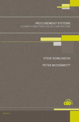 Procurement Systems: A Guide to Best Practice in Construction book cover