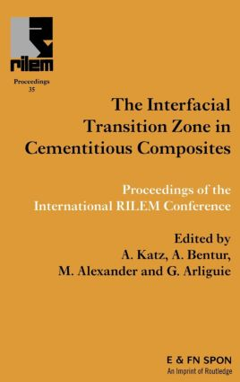 Interfacial Transition Zone in Cementitious Composites: 1st Edition (Hardback) book cover