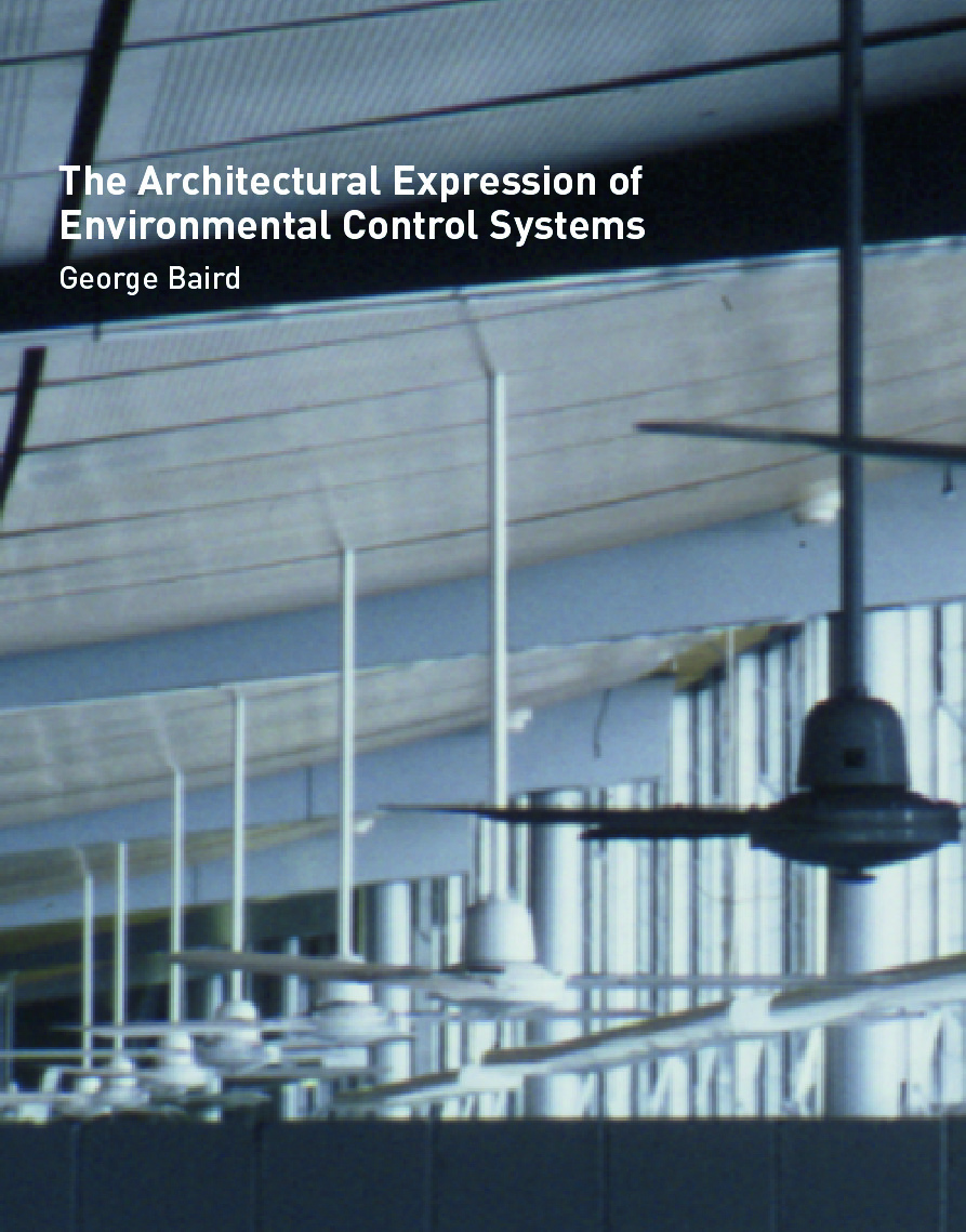 The Architectural Expression of Environmental Control Systems (Hardback) book cover
