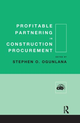 Profitable Partnering in Construction Procurement book cover