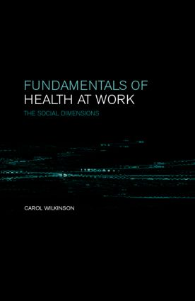 Fundamentals of Health at Work: 1st Edition (Paperback) book cover