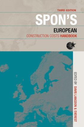 Spon's European Construction Costs Handbook, Third Edition book cover