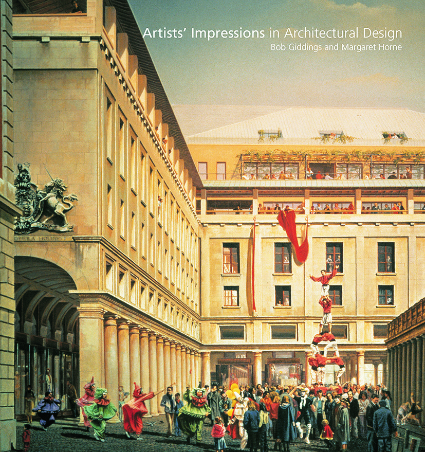 Artists' Impressions in Architectural Design: 1st Edition (Hardback) book cover