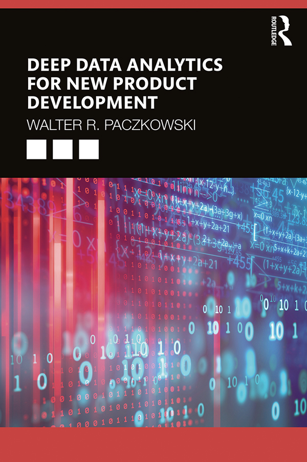 Deep Data Analytics for New Product Development book cover