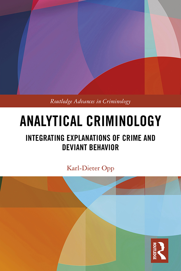 The origin and working of the Sicilian Mafia – a comparison of a rational choice explanation with criminological theories