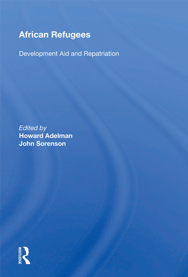 African Refugees: Development Aid And Repatriation book cover