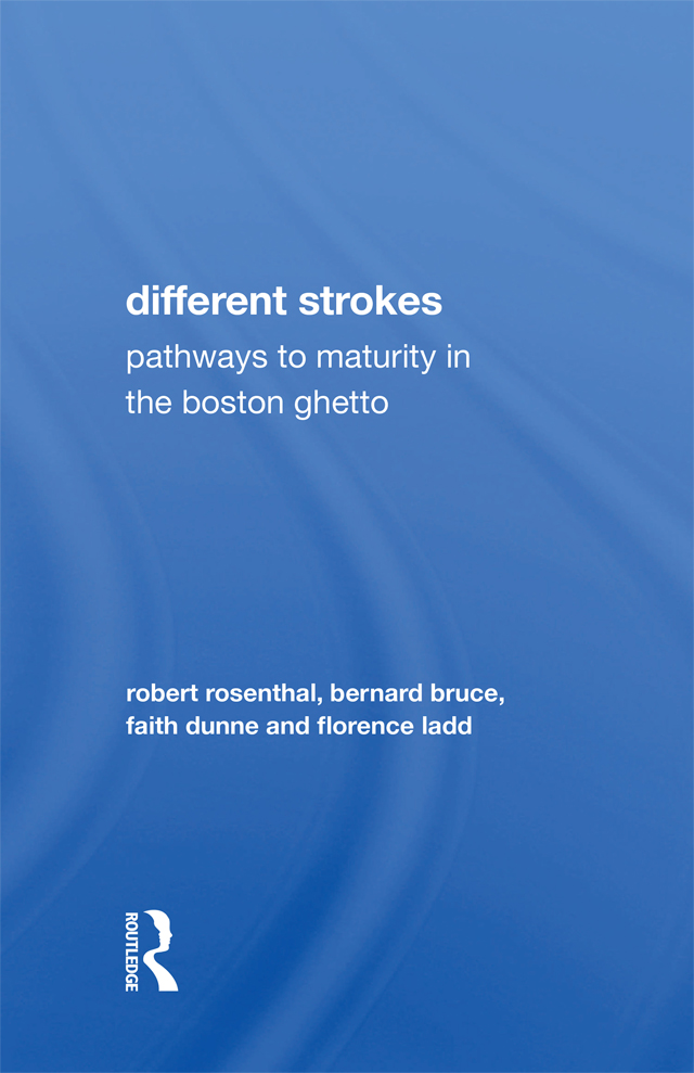 Different Strokes: Pathways to Maturity in the Boston Ghetto book cover