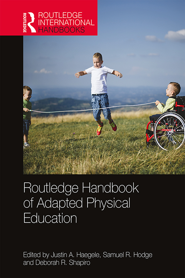 Routledge Handbook of Adapted Physical Education book cover