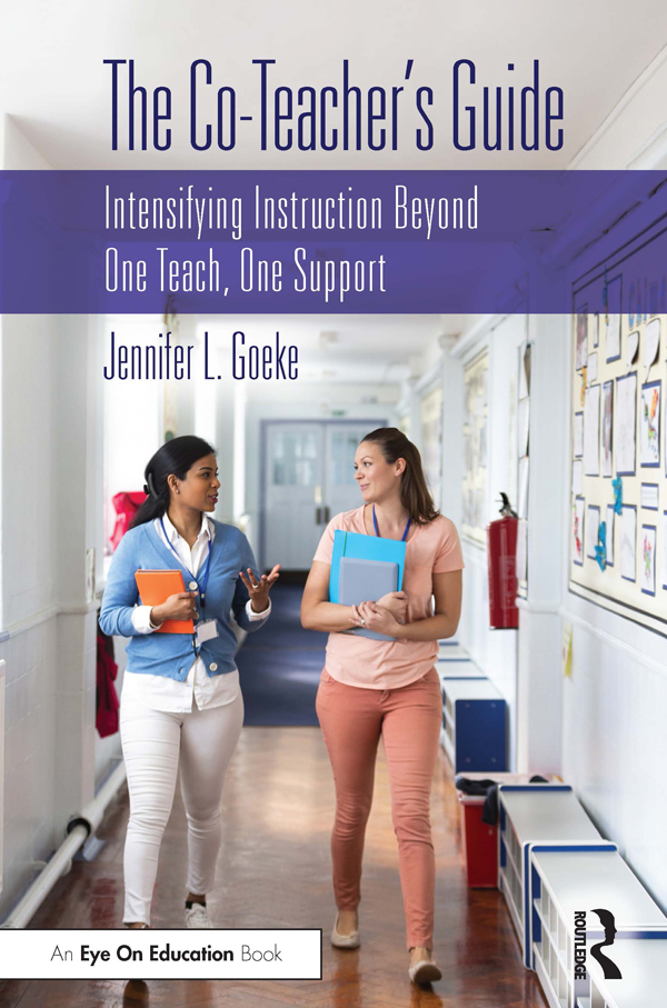 Integrating the Co-Teaching Roles With Established Co-Teaching Models