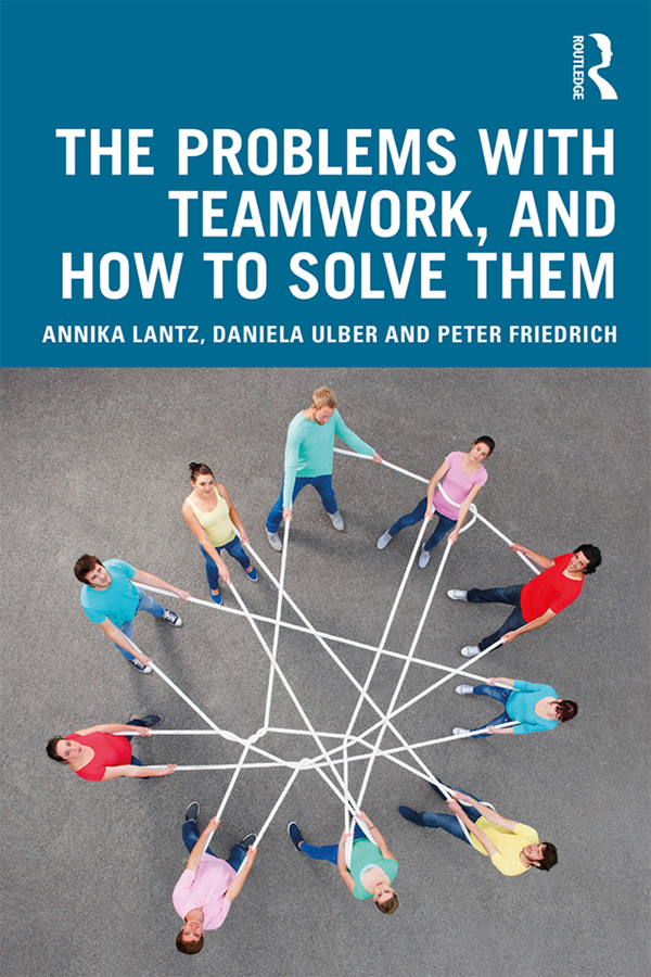 The Problems with Teamwork, and How to Solve Them book cover