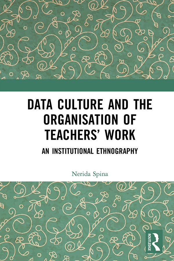 Data Culture and the Organisation of Teachers' Work