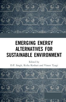Emerging Energy Alternatives for Sustainable Environment book cover