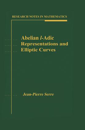 l-adic Representations Attached to Elliptic Curves