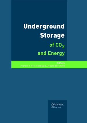 Underground Storage of CO2 and Energy: 1st Edition (e-Book) book cover
