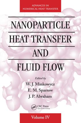 Nanoparticle Heat Transfer and Fluid Flow: 1st Edition (e-Book) book cover
