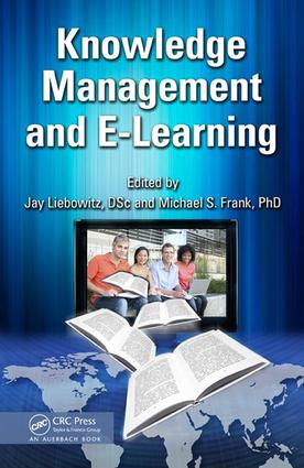 Knowledge Management and E-Learning: 1st Edition (e-Book) book cover