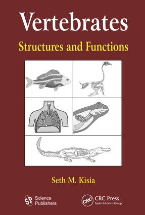 Vertebrates: Structures and Functions, 1st Edition (e-Book) book cover
