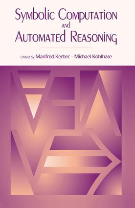 Symbolic Computation and Automated Reasoning