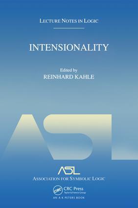 Karl-Georg Niebergall Intensionality in philosophy and metamathematics