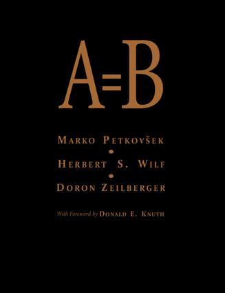 A = B: 1st Edition (e-Book) book cover
