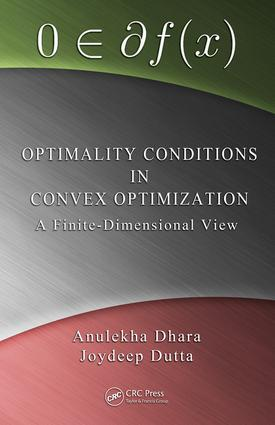 Optimality Conditions in Convex Optimization