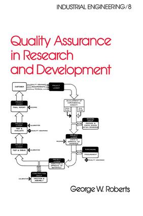 Quality Assurance in Research and Development
