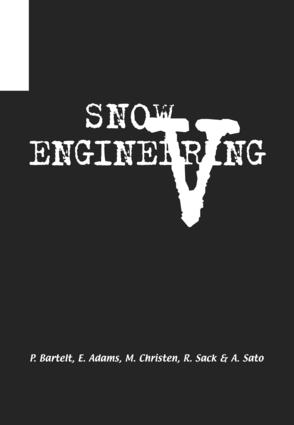 Snow Engineering V: Proceedings of the Fifth International Conference on Snow Engineering, 5-8 July 2004, Davos, Switzerland, 1st Edition (e-Book) book cover