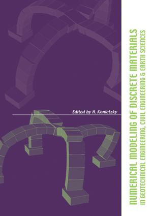 Numerical Modelling of Discrete Materials in Geotechnical Engineering, Civil Engineering and Earth Sciences: Proceedings of the First International UDEC/3DEC Symposium, Bochum, Germany, 29 September - 1 October 2004, 1st Edition (e-Book) book cover