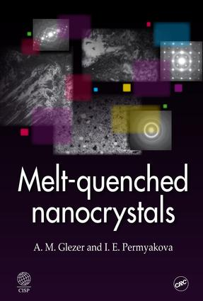 Melt-Quenched Nanocrystals: 1st Edition (e-Book) book cover