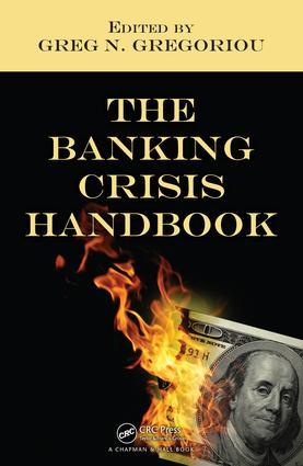 The Banking Crisis Handbook book cover