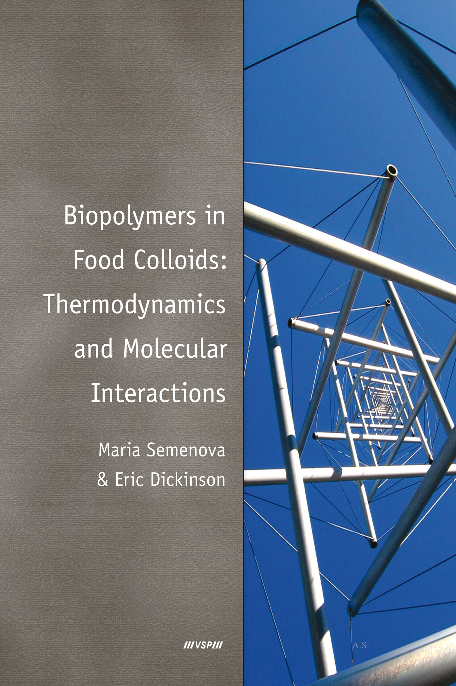 Biopolymers in Food Colloids: Thermodynamics and Molecular Interactions: 1st Edition (Hardback) book cover