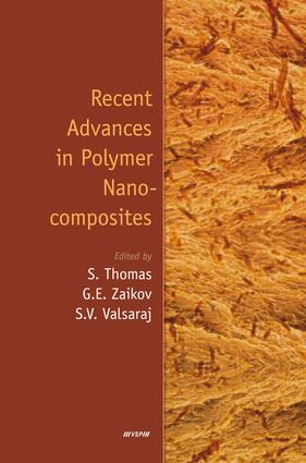 Recent Advances in Polymer Nanocomposites: 1st Edition (Hardback) book cover