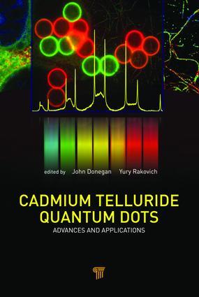 Cadmium Telluride Quantum Dots: Advances and Applications, 1st Edition (e-Book) book cover