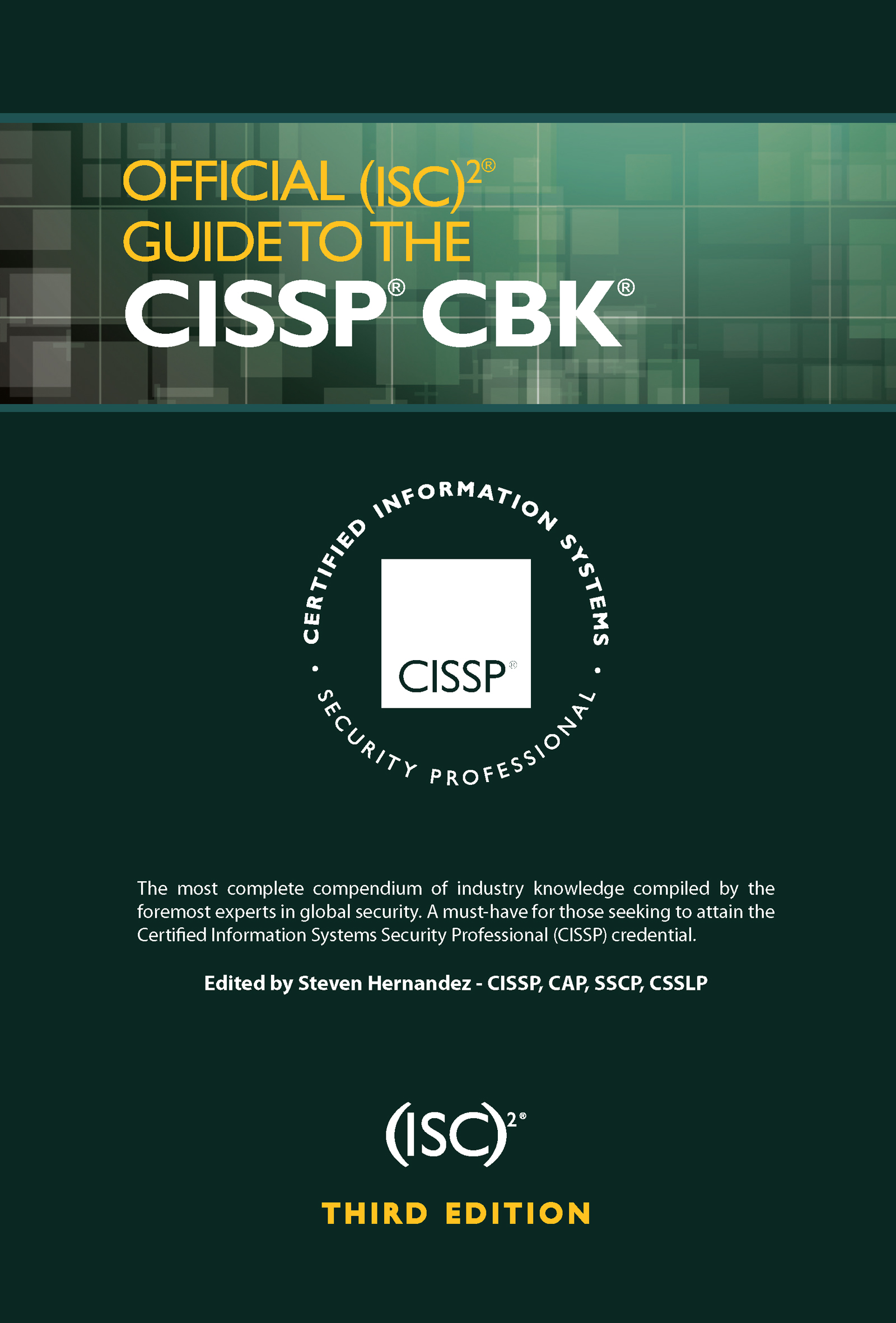 Official (ISC)2 Guide to the CISSP CBK: 3rd Edition (e-Book) book cover