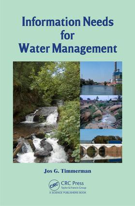 Information Needs for Water Management: 1st Edition (e-Book) book cover