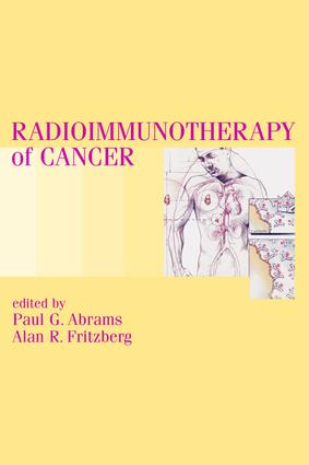 Radioimmunotherapy of Cancer: 1st Edition (Hardback) book cover