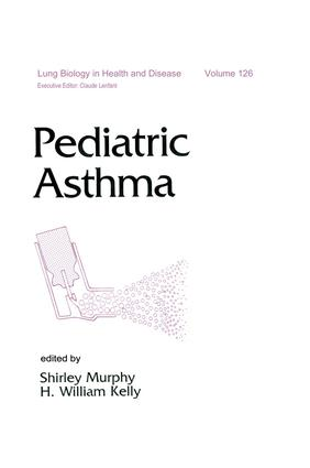 Pediatric Asthma: 1st Edition (Hardback) book cover